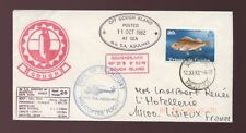 Aviation Used British Colonies & Territories Cover Stamps