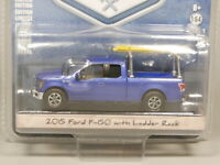 Greenlight 1:64 2015 Ford F-150 with Ladder Rack Diecast model car