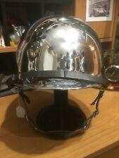 More details for ww2  m1 chromed front seam  helmet