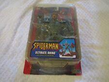 Toy Biz Marvel Spider-Man Classics Ultimate Rhino Action Figure