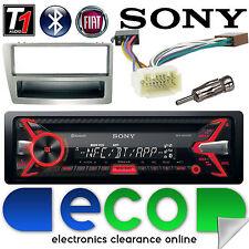 Honda Civic EP3 Sony 55 x 4W CD MP3 USB Bluetooth Car Stereo & SILVER Fascia Kit