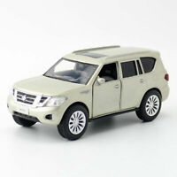 Nissan Patrol Y62 SUV 1:36 Model Car Gift Diecast Toy Vehicle Kids Champagne