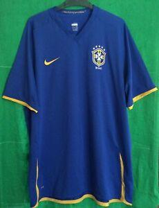 BRAZIL National Team 2008/10 Nike Away Football Shirt Men's XXL