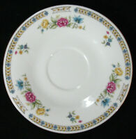"Liling Fine China ""Liling Rose"" Yung Shen Tea Coffee Cup Saucer"