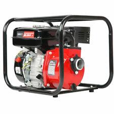 Giantz 8HP 2-inch High Flow Petrol Water Pump - Red/Black