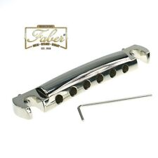 Faber TPW59NG, TPW-59-NG,Wraparound Tailpiece, Nickel plated, Gloss Finish