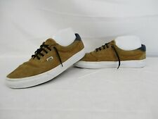VANS Era Low Top Trainers, Skate Shoes, Brown Leather, Size UK 8, Eur 42