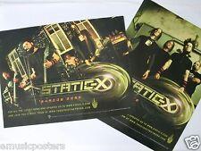 STATIC-X 12x18 XERO POSTER WISCONSIN DEATH TRIP WAYNE STATIC MEMORIAL TRIBUTE 0
