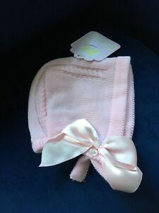 Baby Mädchen Strick Mütze alter 0-3 Monate