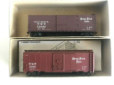 HO SCALE ACCURAIL - 2 NICKEL PLATE ROAD 40' BOXCARS