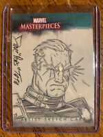 "2008 Marvel Masterpieces CABLE Sketch Card 1/1 Dave ""Pops"" Tata"