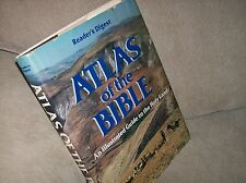 Atlas of the Bible : An Illustrated Guide to the Holy Land by Reader's Digest...