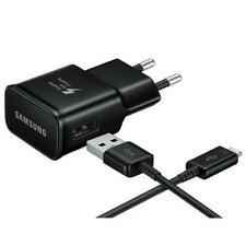 GENUINE SAMSUNG FAST CHARGER PLUG & MICRO USB CABLE FOR GALAXY S4 S5 S6 S7 J7 J8