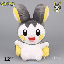 Pokemon Center Emolga  Plush Toy Soft Stuffed Animal Doll 12'' Teddy Kids Gift
