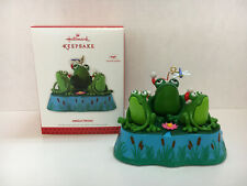 Hallmark ornament JINGLE FROGS 2013 - magic - sound and motion