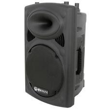 "QTX QR12 400W 8-Ohm 12"" Passive DJ Band Club PA Speaker or Floor Monitor 9.8Kg"