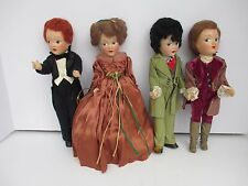 4 Vintage PLAYTHING Composition Doll FLIRTY EYES JOINTED