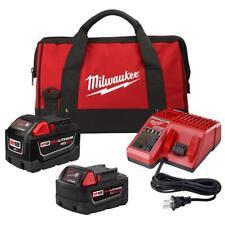 Milwaukee 48-59-1890SP 18 Volt Kit with 5.0 Ah & 9.0 Ah Battery, Charger, Bag