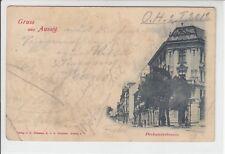 AK Usti nad Labem , Aussig, Pockauerstrasse, 1900