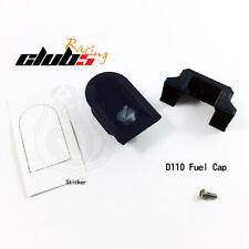 Fuel Cap for TRX-4 Defender D110 Body ( 3D Printed PLA, Silver Cap )