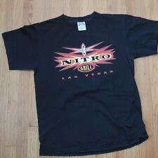 WCW Nitro Grill Las Vegas Shirt Size Large Vintage 90s Eagle NWO WWE WWF Sturgis