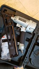 Hitachi 15 gauge angle Finish nailer NT65MA4 nail gun with air duster & case