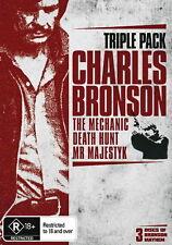 Charles Bronson - Action / Thriller / Crime - Triple Pack - NEW DVD