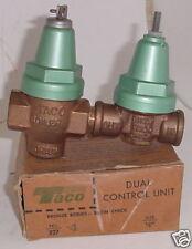 """Taco 327-4 Dual Control Unit 1/2"""" Nib Nos"""