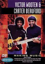 Victor Wooten & Carter Beauford Making Music DVD Instructional Drum  D 000320306