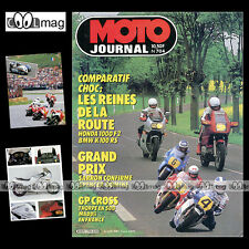 MOTO JOURNAL N°704 BMW K 100 RS K100 HONDA VF 1000 F2 GRAND PRIX SALZBURG 1985