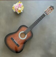 Acoustic Guitar Six Strings Natural Color Protective Bag And Accessories Tlc