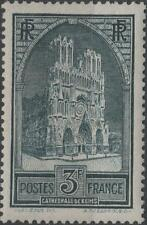 "FRANCE STAMP TIMBRE N° 259 "" CATHEDRALE REIMS 3F TYPE I "" NEUF xx TTB  H259"