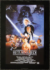 STAR WARS REPRO 1983 RETURN OF THE JEDI A3 FILM MOVIE POSTER a . NOT DVD