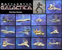 Battlestar Galactica Raptor Cylon Raider Viper Custom Christmas Ornament Adorno