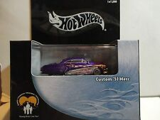 Hot Wheels 100% Black Box Debbie Chisolm Purple Custom '51 Merc HTF