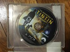 The Adventures of Tintin: The Game (Sony PlayStation 3, 2011) Disc & Case