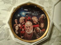 All Good Things Star Trek Next Generation Episode Collector Plate 4828A Hamilton