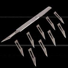 1x Skalpell Skalpellgriff No.3 +10 x Klingen Skalpellklingen Klinge Form 11 MI 6