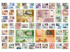 WORLD BANKNOTE SET UNC MIX 23 COUNTRIES 50 DIFFERENT