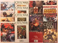 Lot Of 16 Civil War Comics (Marvel, 2006-2016) VF (One-shots & More)