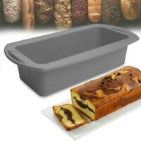 Cake mold silicone Nonstick Pan-soap french bread toast Bread Large loaf pan NEW