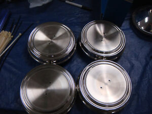 NEW 1968 1969  FORD MUSTANG GT WHEEL COVERS  HUB CAPS   SET OF 4 MACH 1