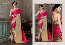 Indian Ethnic Bollywood Beautiful Party Wear COTTON Designer Saree Sari Juliet