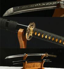 "41""1095 CARBON STEEL CLAY TEMPERED JAPANESE SAMURAI SWORD KATANA VERY SHARP"