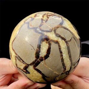 1350g Natural Dragon Septarian Ball Quartz Crystal Specimen Reiki Healing Reiki