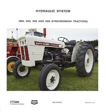 David Brown Hydraulic System 885 990 995 Amp 996 Synchromesh Tractors