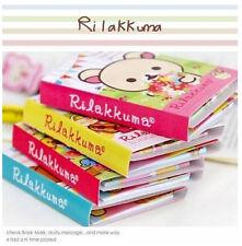 FD922 San-X Rilakkuma 4Fold Sticky Note Sticker Bookmarker Memo Pad Random 1pc:)