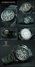 Luxury Designer Aerowing Chronograph Watch Special Form Ion Black Plated Top