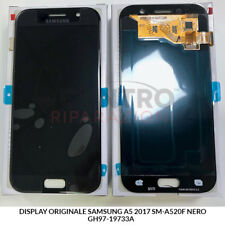 DISPLAY LCD TOUCH SCREEN ORIGINALE SAMSUNG GALAXY A5 2017 SM-A520F NERO BLACK