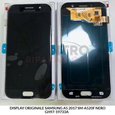 DISPLAY LCD TOUCH SCREEN ORIGINALE SAMSUNG GALAXY A5 2017 SM-A520F NERO BLACK